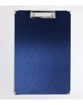 Porta folio Azul Metalizado