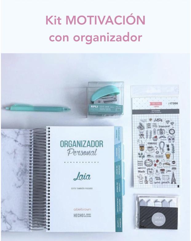 Kit motivación con organizador
