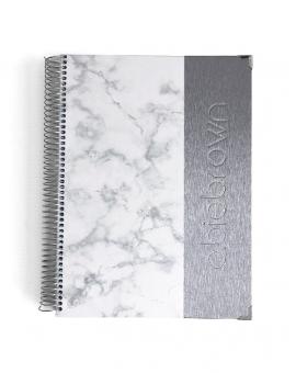 Agenda de Trabajo A4 Silver Mármol