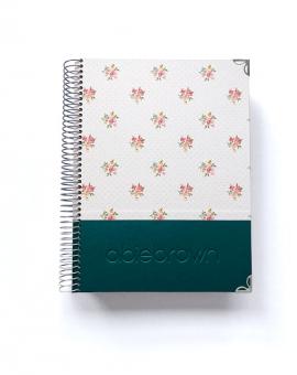 Agenda Personalizada A5 Esmeralda Combinado