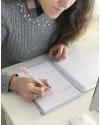 Diario emprendedor A5 Malva Combinado