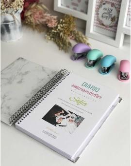Diario emprendedor A5 Violeta Liso