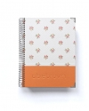 Agenda Personal Naranja Tamaño A5