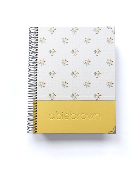 Organizador Personal A5 Amarillo Combinado