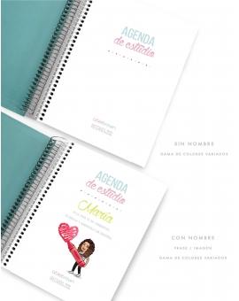Agenda Personal Tricolor Turquesa Tamaño A5