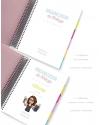 Organizador de Trabajo A5 Tricolor Rosa